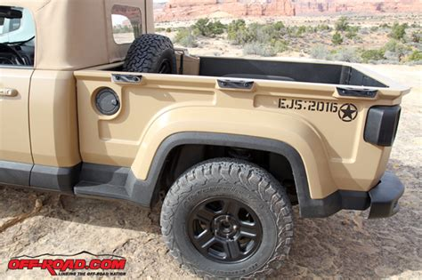 Jeeps With Truck Beds by Comanche Concept Makes The Jeep Renegade Into A Truck