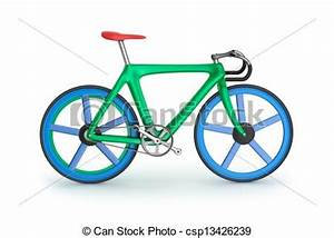 Drawings of Road bicycle. My own design. csp13426239 ...