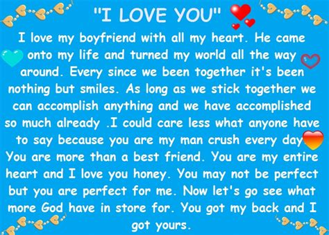 romantic love paragraphs letters   boyfriend words