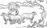 Coloring Shepherd Sheep Pages German Printable Face Cool2bkids Dog Getdrawings sketch template