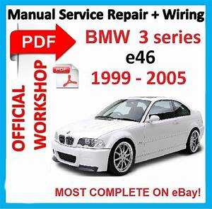 Factory Workshop Manual Service Repair For Bmw Series 3 E46 M3 1999