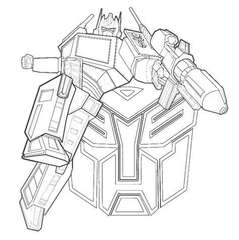 transformers coloring book transformers was an evil enemy firing coloring page