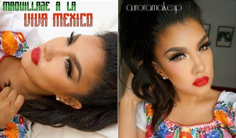 Maquillaje Tricolor Mexicano / Mexican Look Makeup
