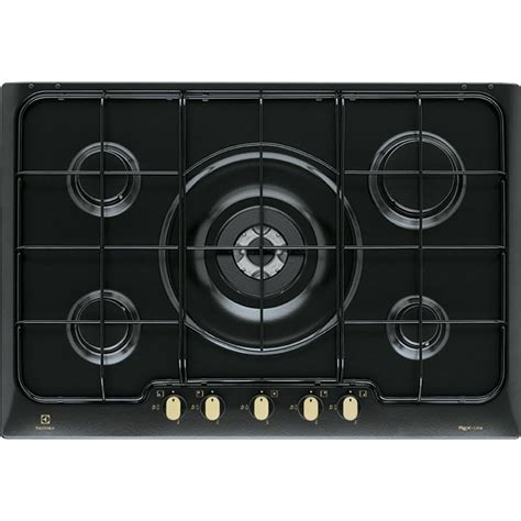 electrolux piani cottura electrolux rgg7253oor incasso piano cottura a gas nero