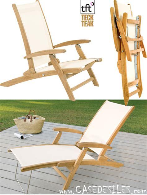 chaise de plage pas cher chaise teck pas cher fabulous salon de jardin en teck pas