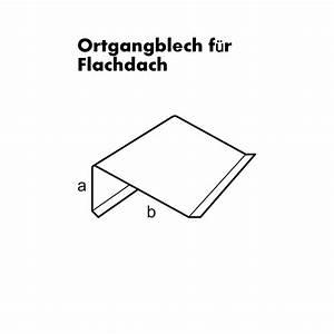 Ortgangblech Flachdach Montieren : butterjalle ortgangblech f r flachdach ~ Whattoseeinmadrid.com Haus und Dekorationen