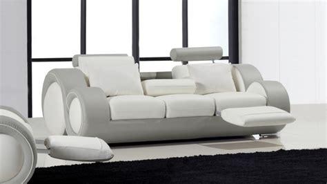 canap relax design canapé 3 places relax et design en cuir mobilier moss