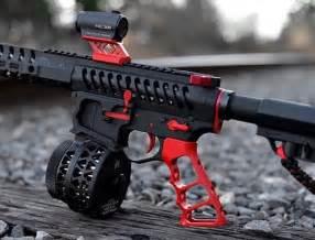AR-15 Pistol Grip Red
