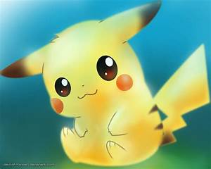 The Cute Yellow Pikachu Picture - Images, Photos, Pictures
