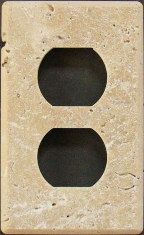 travertine switch plates switchplates and outlet covers