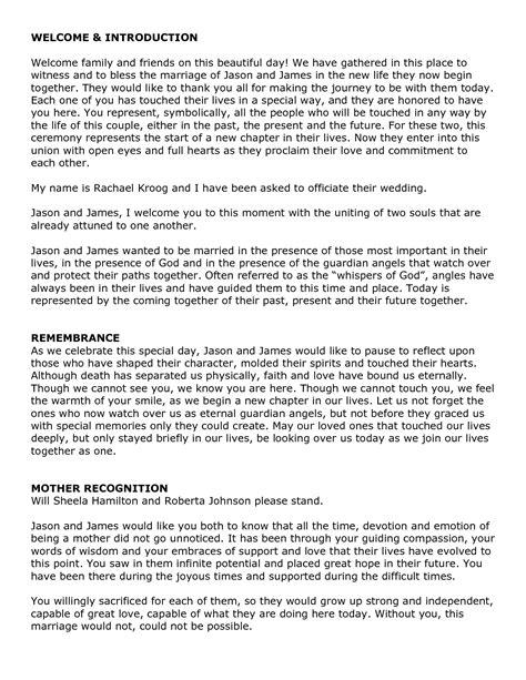 wedding officiant script 70 civil ceremony wedding vows exles wedding