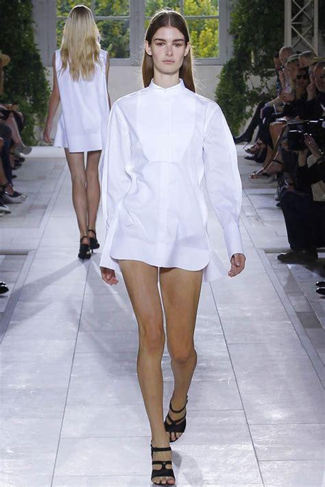 womens white dress 5 stunning fashion week summer 2014 trends