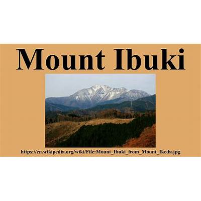 Mount Ibuki - YouTube