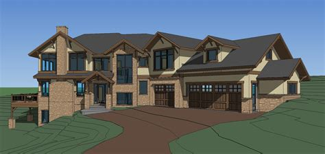 custom house plans elk meadow estates custom home plans completed
