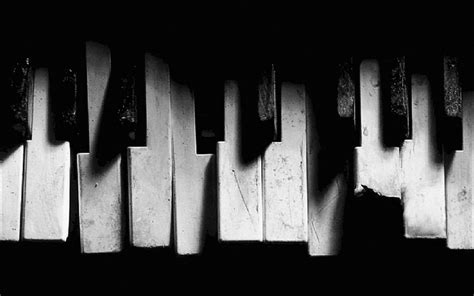 black  white piano  grunge  wallpaper