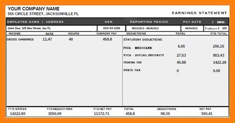 printable paycheck stubs samples  paystubs