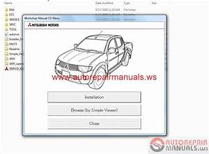 Mitsubishi L200 2010 Service Manual