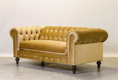 West Elm Cabinet by Gold Velvet Chesterfield