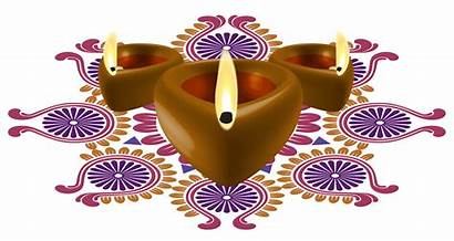 Diwali Deepavali Clipart Happy Candles Decorative Transparent