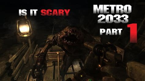 Lets Play Metro 2033 Redux Ps4 Part 1 Youtube