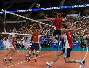 FIVB World League Men's Volleyball Bulgaria vs. USA Match ...