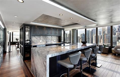 large kitchen floor plans how to incorporate marble into your interior design