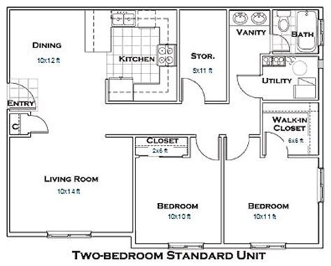 Apartment floor plans, Finished basements and In laws on