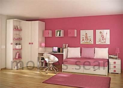 Rooms Designs Space Saving Pink Bedroom Children