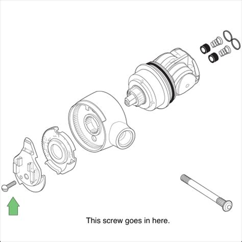 Delta 1700 Series Shower Valve by How To Replace A Cartridge Assembly For A Delta Monitor