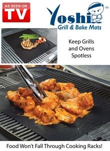 grill mat as seen on tv yoshi grill and bake mats as seen on tv drleonards