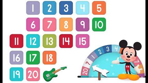 Learn Numbers Disney Buddies 123s