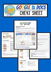 google docs cheat sheet for teachers and students google With google documents for teachers
