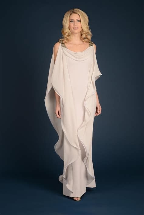 robe mere dela mariee pour mariage intime daymor couture 710 draped formal dress novelty