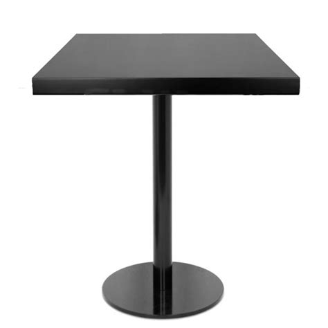 table 60x60 cuisine table de restaurant 60x60 cm base ronde ultra plat en