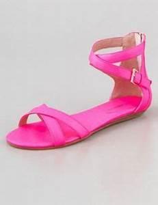 Pink Sandals on Pinterest