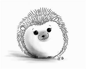 hedgehog drawing - Quoteko.com | Hedgehog | Pinterest ...
