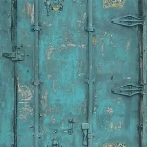 Vintage Tapete Grau : tapete grandeco stahl vintage t rkis ew3201 ~ Sanjose-hotels-ca.com Haus und Dekorationen