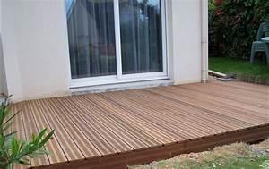 Pose De Lame De Terrasse : lames en massaranduba terrasse en bois comment ~ Edinachiropracticcenter.com Idées de Décoration