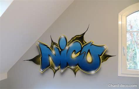 image de chambre york chambres de garçons décoration graffiti deco