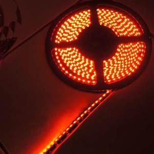 Ruban Led Rouge : ruban led noir clairage lat ral rouge 120 leds m ip65 ~ Edinachiropracticcenter.com Idées de Décoration