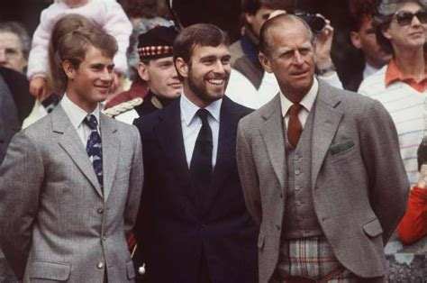 Slide 13 of 52: Prince Philip posed with sons Prince ...