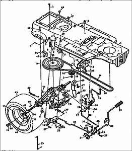 Craftsman Riding Mower Parts Diagram