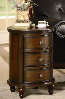 antique walnut finish small   drawer cabinet