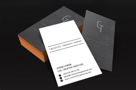 personal business card template  business card