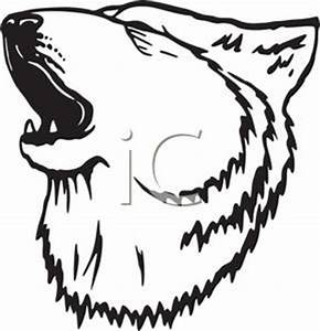 Wolf Clipart Black And White | Clipart Panda - Free ...