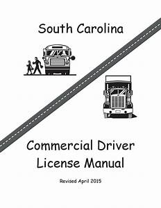 Commercial Driver Manual For Cdl Training  South Carolina
