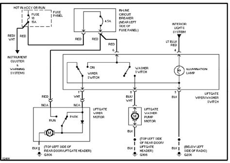 1996 Aerostar Wiring Diagram by 1995 Ford Aerostar Wiring Diagram Wiring Diagram Service