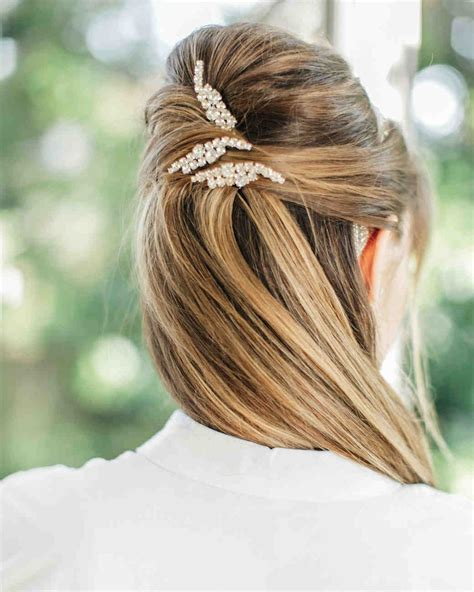 wedding guest hairstyles   season martha stewart