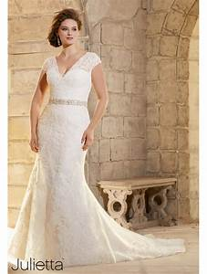 mori lee 3183 size 24 ivory lace wedding dress plus size With size 24 wedding dress