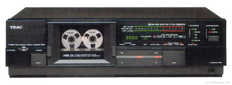 teac   manual auto reverse stereo cassette deck